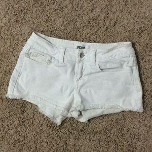 Victoria's Secret, Pink White Shorts